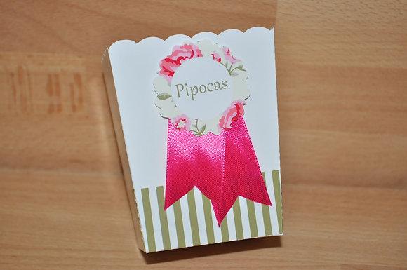 P025: Pacote p/ Pipocas Rose