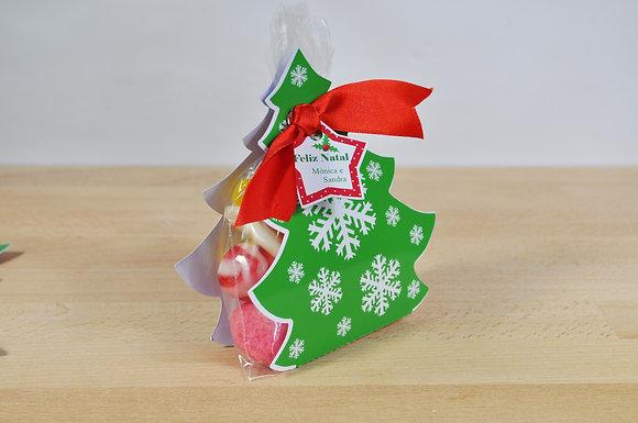 1 Árvore de natal com gomas p/ ofertas