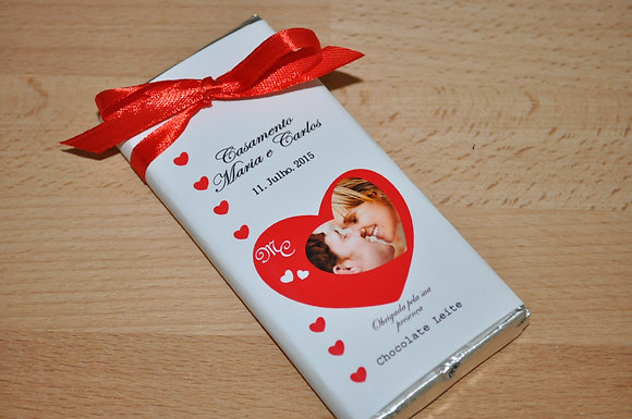 C045: 1 Chocolate de Leite Coração