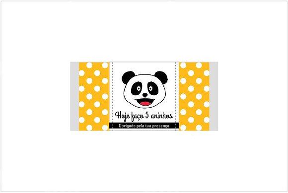 C020: 1un Chocolate Panda Amarelo