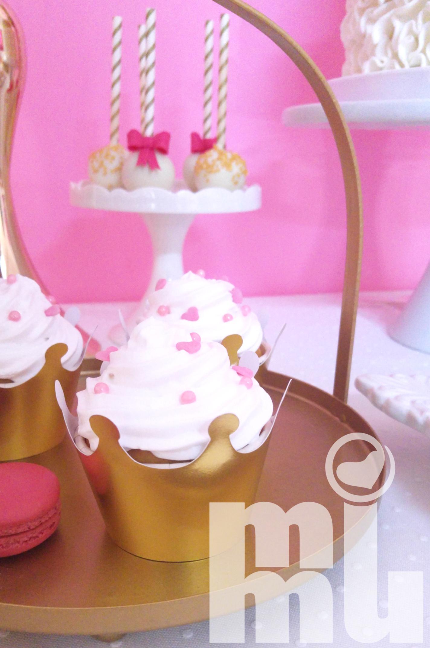 Cupcake com buttercream