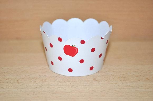 Q017: 6 Cupcakes Wrap maça