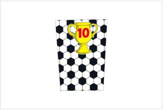 P013: Pacote p/ Pipocas Futebol
