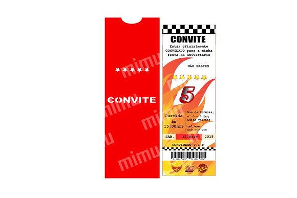 I017: 1 Convite - ingresso Corridas