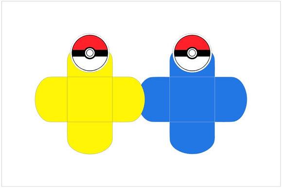 D039: Forminha p/ doces Pokemon