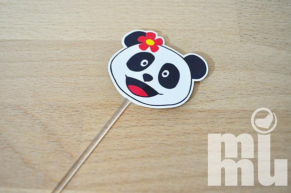 T004: 6un Topper Panda RED