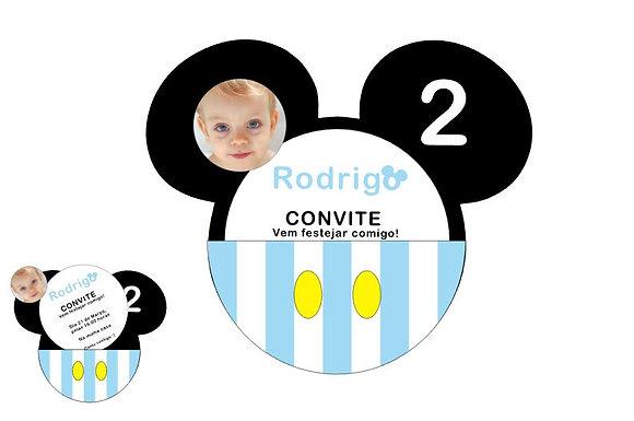 I011: 1 Convite Mickey