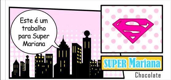 C058: 1 Chocolate Supergirl
