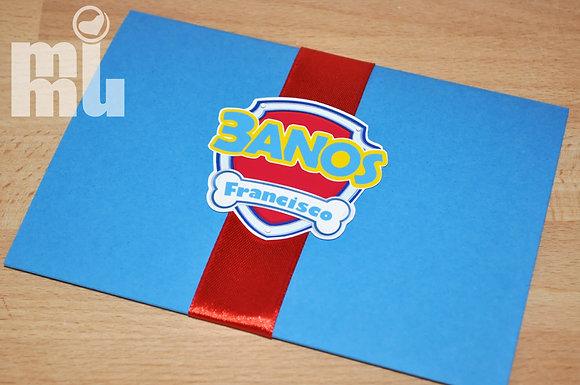 I043: Convite PAW - Azul
