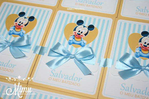 I070: 1 Convite Mickey