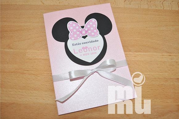 I045: 1 Convite Minnie Mag