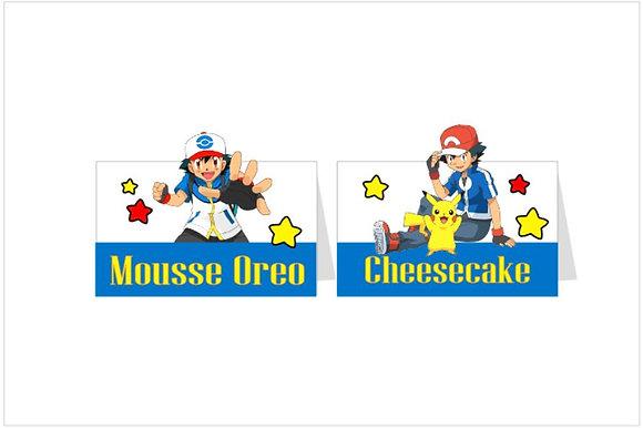 MA067: 6un Marcador Pokemon