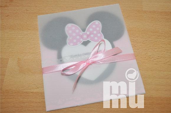 I044: 1 Convite Minnie VEG