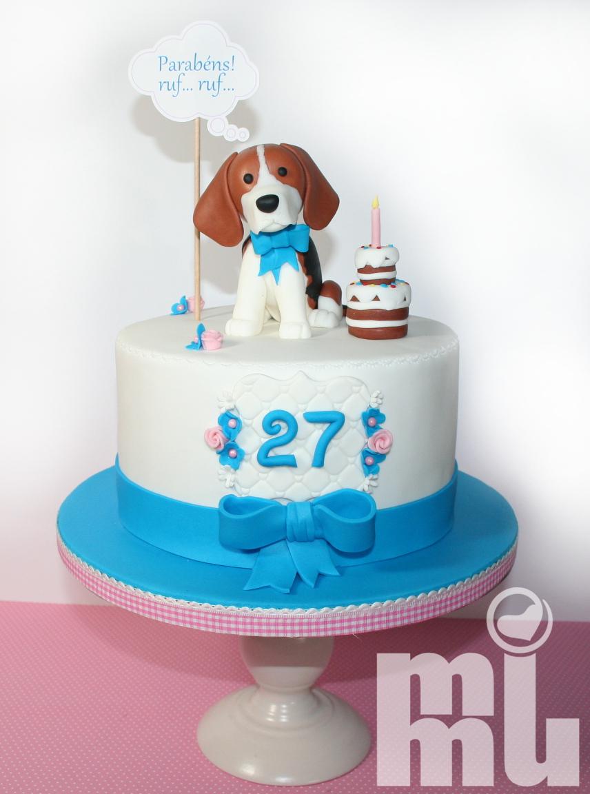 Bolo Cão Beagle