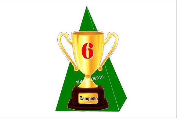 M011: Cone Futebol taça c/ gomas