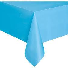 TO002: 1un toalha Mesa plástico Azul