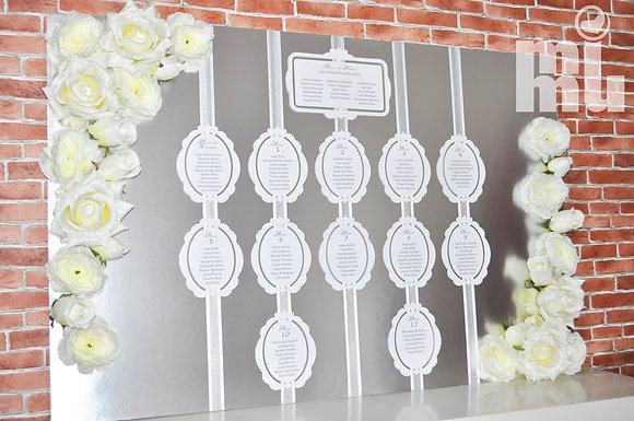 Z001: 1un Placard Casamento Prata