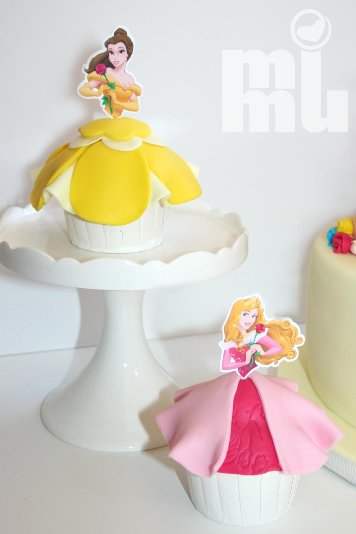 Cupcakes Princesas - Bela
