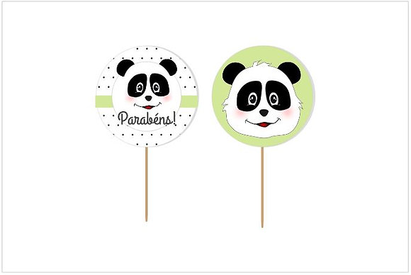 T093: 6un Toppers - Panda B&W