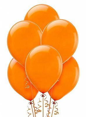 BS009: 1un Balões de Latex SIMPLES - Laranja