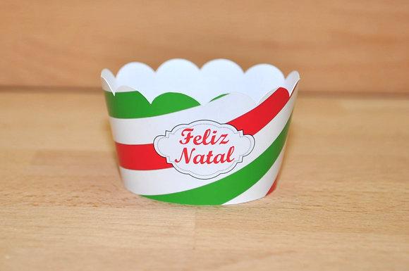 Q014: 6 Cupcakes Wrap F.Natal