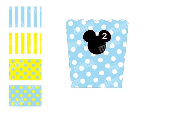 P026: Pacotes p/ Pipocas - Mickey