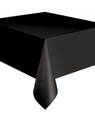 TO001: 1un toalha Mesa plástico preta