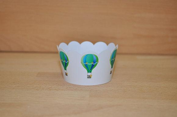Q008: 6 Cupcakes Wrap Baloes