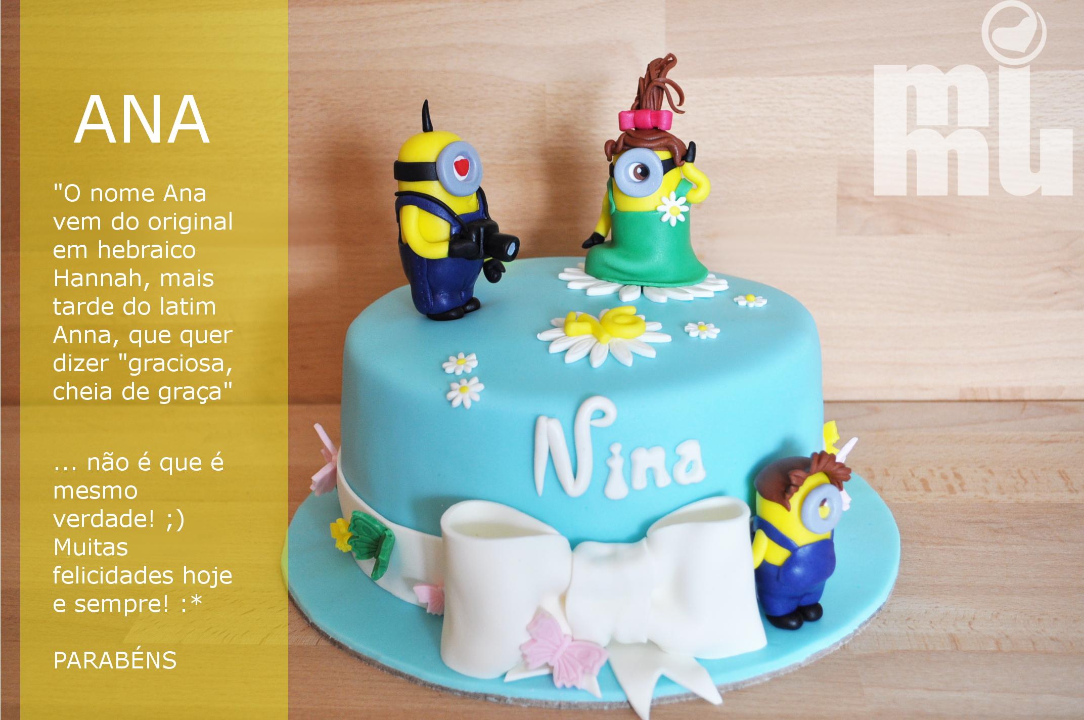 Minions: Esta é a família da Nina :)