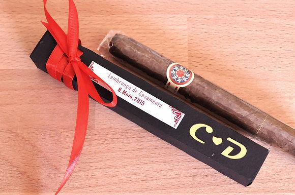 CH003 - 25 Caixa preta iniciais c/ charuto