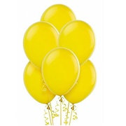 BS011: 1un Balões de Latex SIMPLES - Amarelo