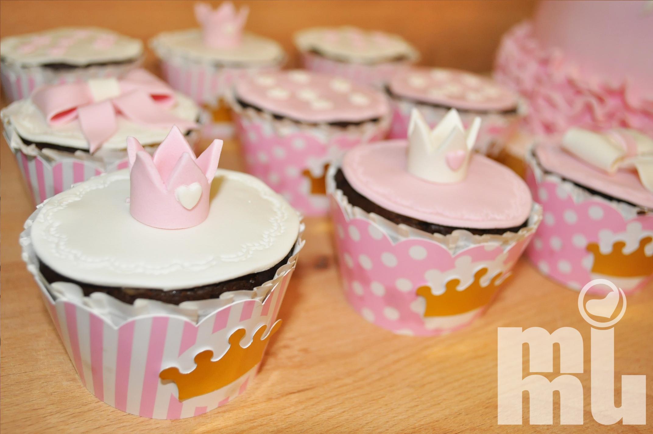 Cupcakes Princesa