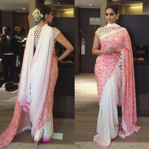 saree styling