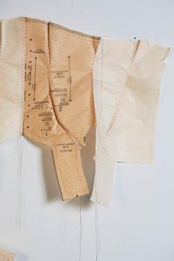 Corset (détail), 2013
