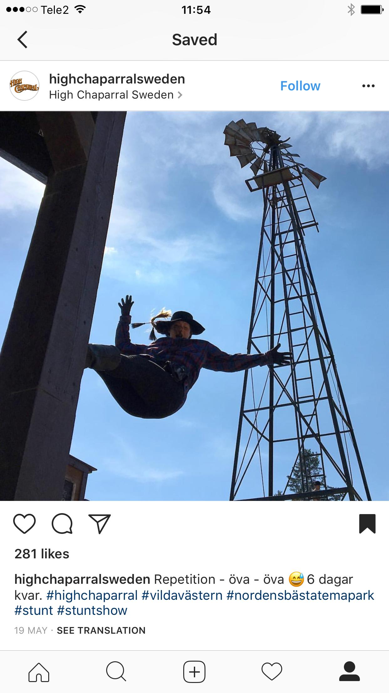 High Chaparral Instagram Repost