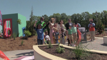 "MCM-Meridian holds ribbon cutting for ""My Fantastical Backyard"""