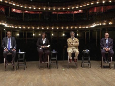 Democratic candidates speak at primary mayoral debate