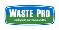 Waste Pro Garbage Collection due to Inclement Weather