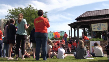 Junior Auxiliary celebrates 'World Art Day' Thrusday