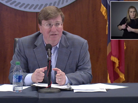 Governor Tate Reeves Signs New Executive Order