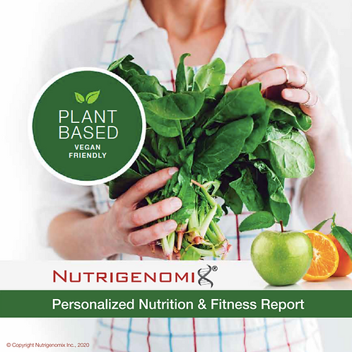 Plant Based Diet Nutrigenomics Test