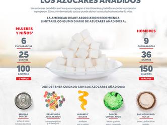 Menos azúcar añadida a mi alimentación