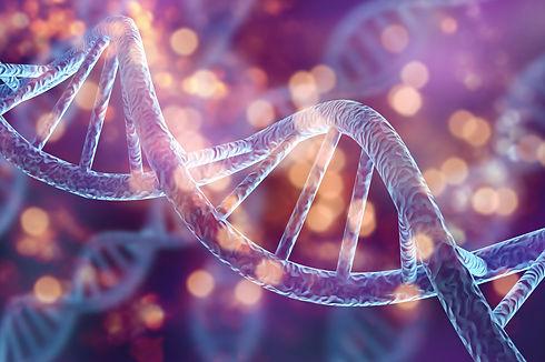 Human cell biology DNA strands molecular