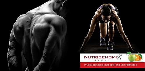 Test Nutrigenético Rendimiento y Actividad Física
