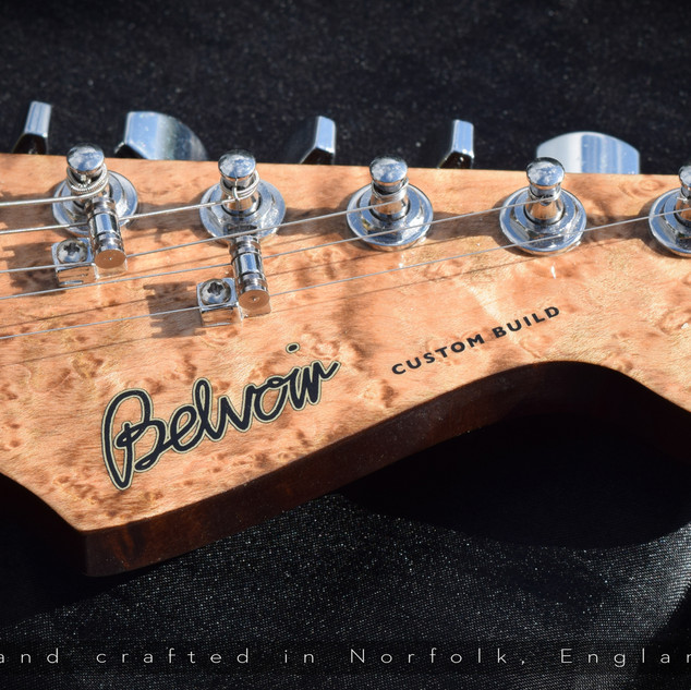Belvoir Strat Build