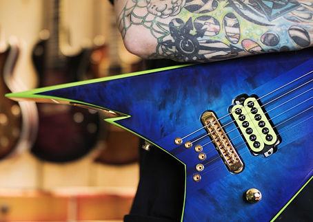 Sean Rowley Belvoir Guitars Bastet Build