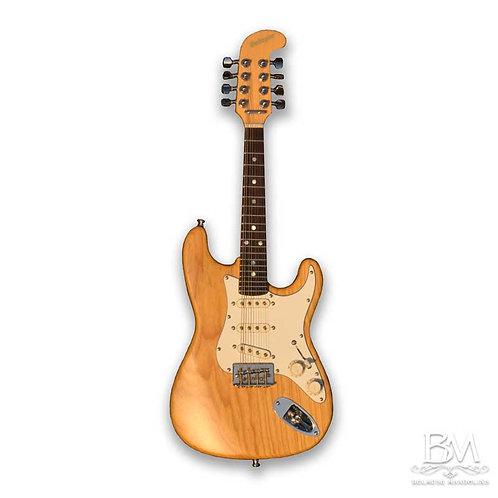 Strat 8 String 'Swamp Ash' Electric Mandolin Solid Body eMando