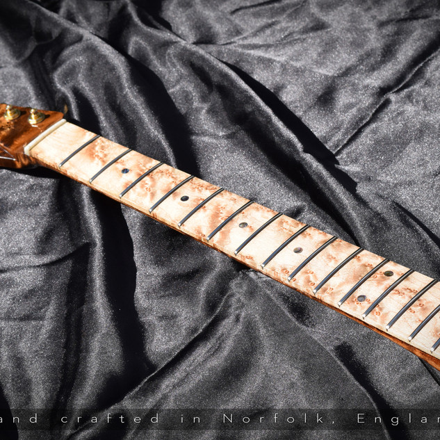 Birdseye Maple T Style Neck