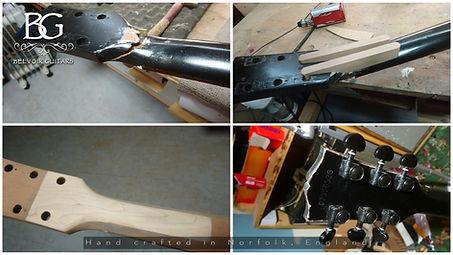 Robin Licker 96 Gibson SG Headstock Repair