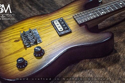 Cherry S4 Ash Burst Electric Mandolin Solid Body eMando